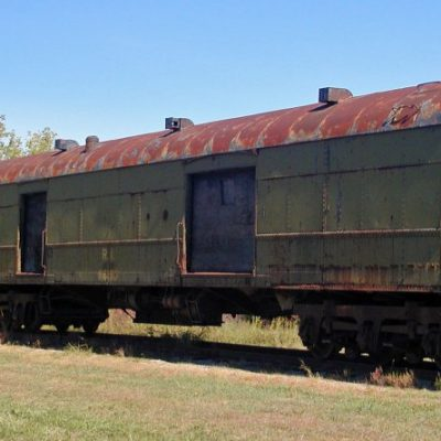 ROCK ISLAND 4119 - Baggage car (Model Train car)