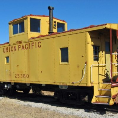 UP 25380 - Caboose
