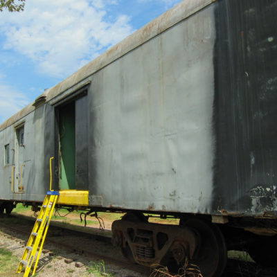 Rock Island Railway Post Office car finds new home