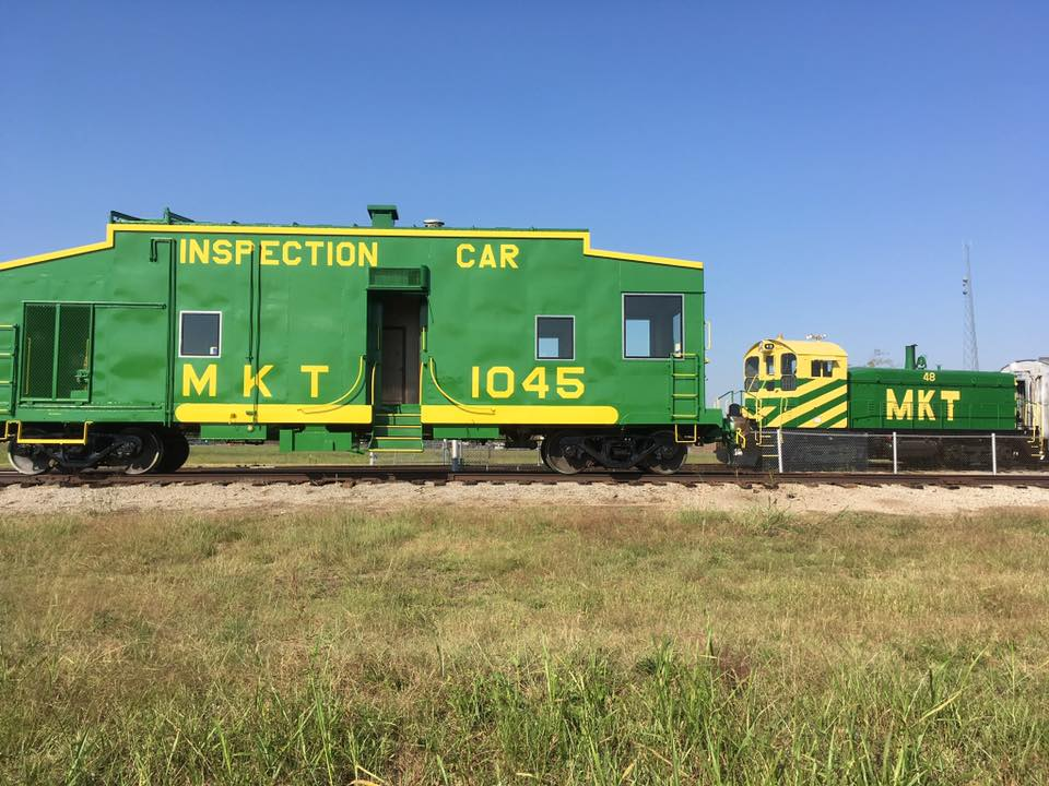 MKT 1045 - Inspection car - Oklahoma Railway Museum